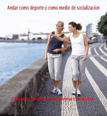 andar como deporte